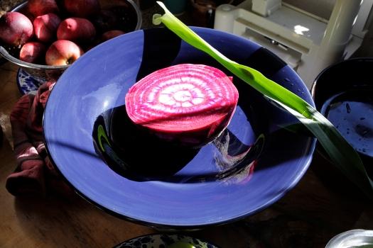 Beet on plate